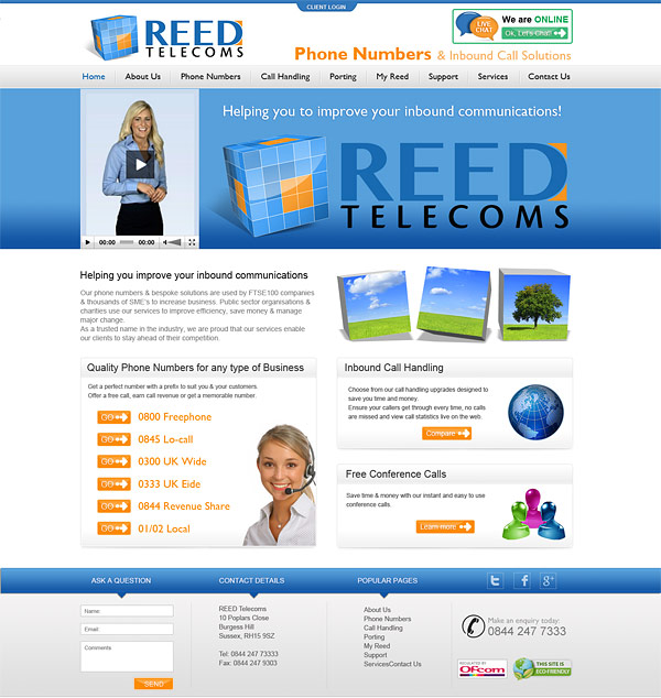 Reed Telecoms